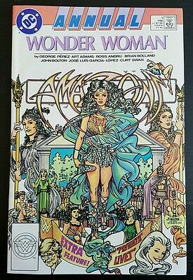 Wonder Woman Annual #1 (1988 D.c.) *movie Coming* Nm-
