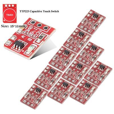 Durable Hot Self-lock/No-lock Touch Key Module Capacitive Settable Switch Board