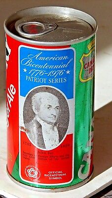 Canada Dry Ginger ALe; Canada Dry Corp.; Maywood, IL; Steel Soda Pop Can