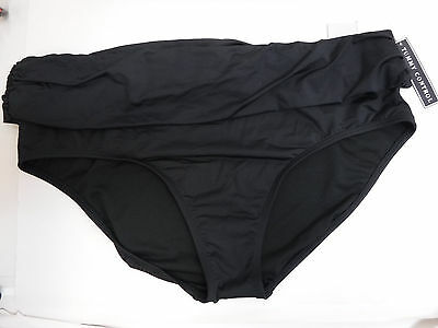 66995e248a Kenneth Cole Reaction Size 3X Tummy Control Black Bathing Suit Bottom  Swimwear