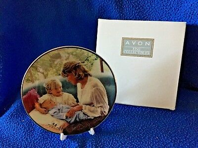 """Avon Mother's Day 5"""" collectible plate 2000 22K gold trim NIB"""
