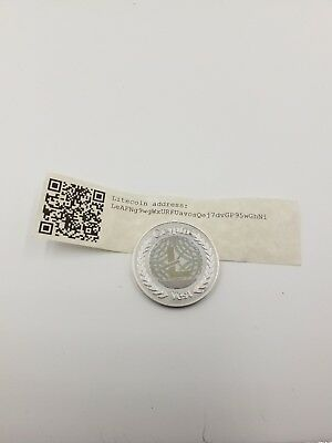 Cryptovest Rare Litecoin Physical Litecoin Unfunded with sending address