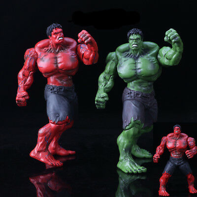 "10"" Marvel Legends The Avengers Incredible Hulk Red Action Figure Model Hulk Toy"