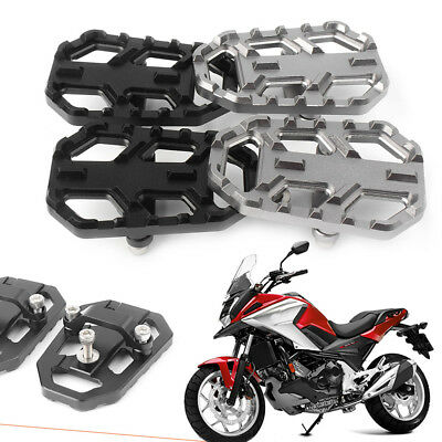 1 Pair Foot Pegs Footrests For Honda NC700X NX700S 2014-18 NC750X NC750S 2012-14