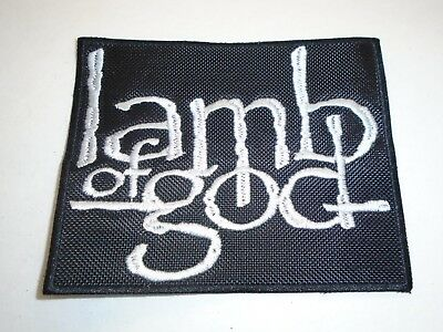 Lamb Of God Embroidered Patch