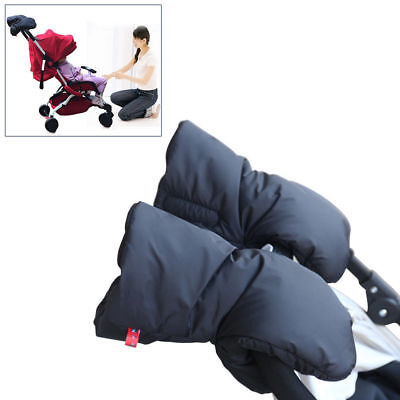 USA Baby Stroller Pram Pushchair Gloves Waterproof Winter Warmer Hand Gloves