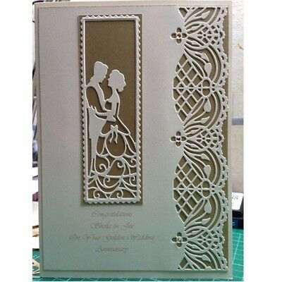 Lace Border Metal Cutting Dies Stencil Scrapbooking Card Paper Embossing Craft