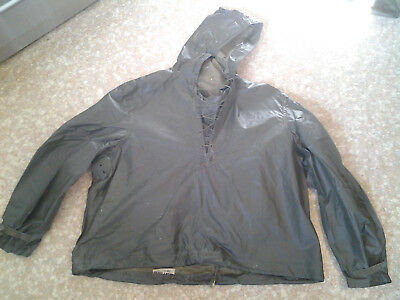 WW2 US Navy Stenciled Foul Weather Anorak Pullover Jacket
