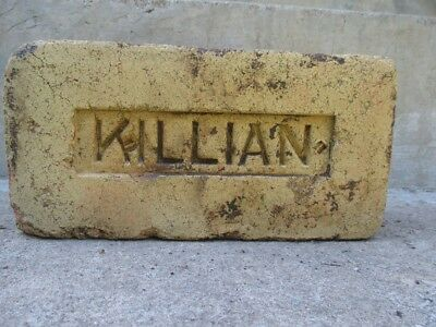 Antique Killian Stamped Brick in Great Condition