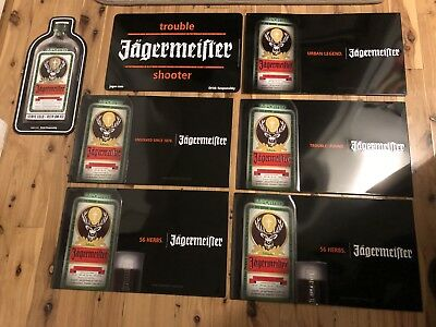 Jagermeister Liquor Bar Signs Metal Tin Tacker Signs Man Cave GameRoom Jager