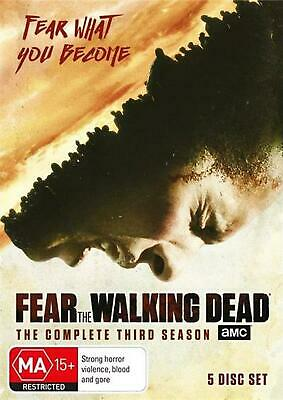 Fear The Walking Dead : Season 3 - DVD Region 4 Free Shipping!