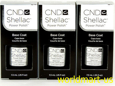 CND Shellac GelColor UV/LED: 3 Base Coat 0.25fl.Oz