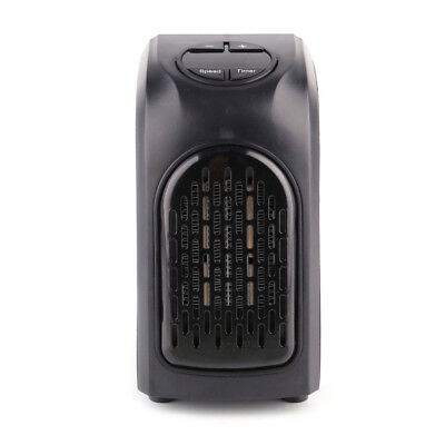 400W 220 - 240V Portable Wall-outlet Space Plug-in Electric Mini Heater