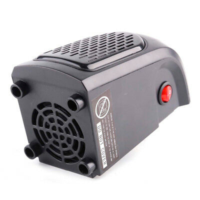400W 220 - 240V Mini Furnace Portable Plug-in Electric Wall-outlet Space Heater