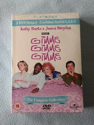 Gimme Gimme Gimme: The Complete Collection; Series 1-3 (DVD) New & Sealed