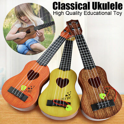 Mini Classical Ukulele Guitar Educational Musical Instrument Toy Gift For Kids
