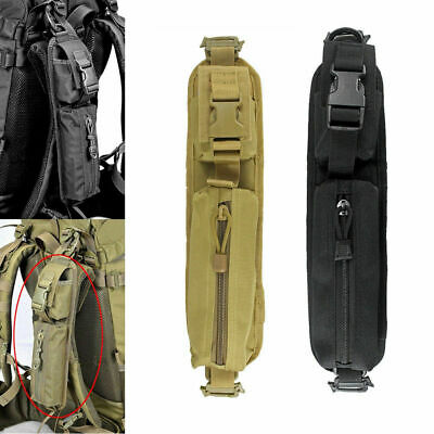 Outdoor Backpack Shoulder Strap Bag Pouch Tactical Molle Accessory Hunting Tool
