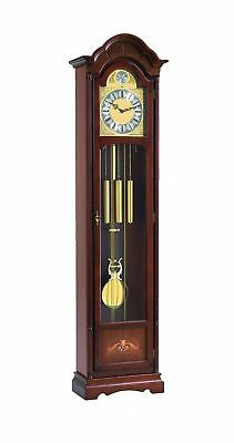 Grandfather clock walnut from Hermle HE 01222-030451 NEW