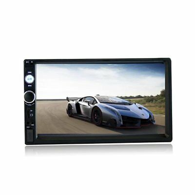 "7"" Bluetooth Car Stereo Radio Double 2 DIN HD MP5 FM Player Touch Screen USB TF"