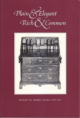 Brand New Copy of Documented Early New Hampshire Furniture, Scarce Book