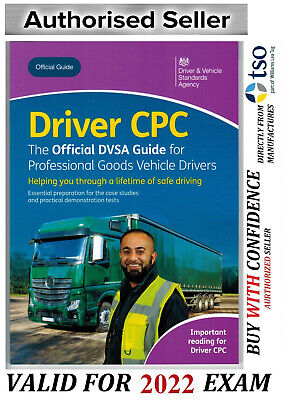 Official DVSA CPC Guide for Professional Goods Vehicle Drivers Book*CPC
