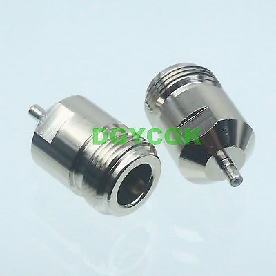 1pce Conversion Adapter N female F to SSMB male M RF connector for Communication