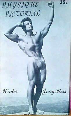 Physique Pictorial Winter 1955 vintage gay magazine