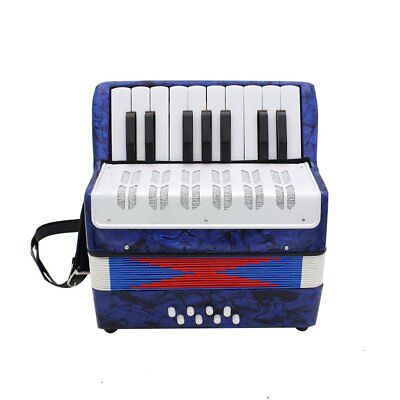 1PC 17 Key 8 Bass Small Accordion Educational Musical Instrument for Children 7#