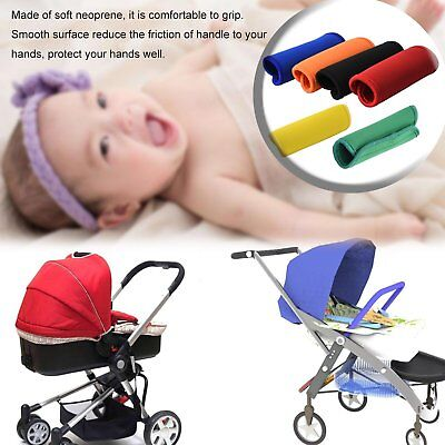 Baby Stroller Armrest Cover Handle Pram Chassis Accessories Stroller Grip Cover#
