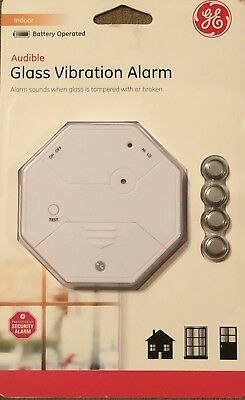 General Electric Glass Break Vibration Alarm New Gift Idea Fast Free Shipping!