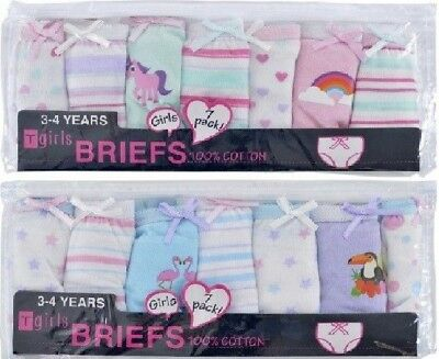 14 PAIRS! Girls Kids Infants Pants Briefs Knickers Size Age 2-3 3-4 5-6 7-8 Year