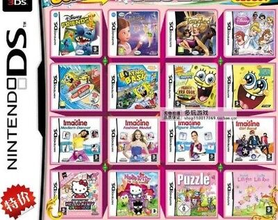 400 in One Nintendo DS/DSi/3DS/3DS XL -Girls