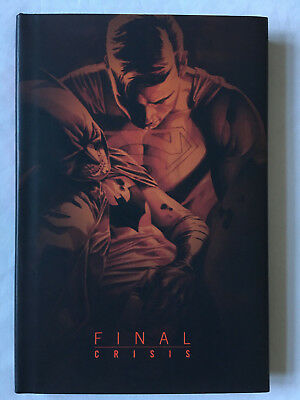 = Final Crisis = Dc Comics = Hardcover = Hc = Hardback = Graphic Novel =