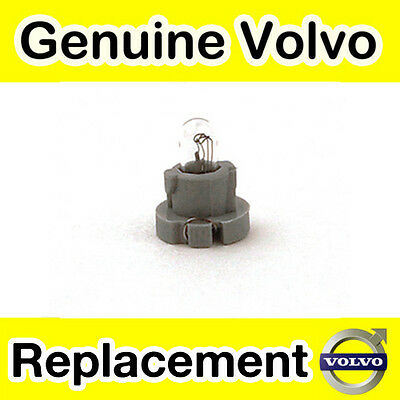Genuine Volvo 850, S70, V70 (-00) C70 (-05) Dashboard Switch Bulb (Short)
