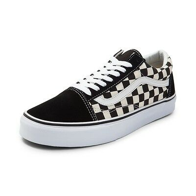 NEUF VANS OLD Skool Fou Chex Skate Chaussure Multi Checker