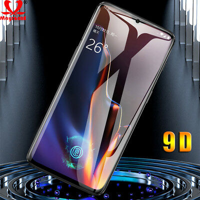 9D Curved Full Cover Screen Protector Tempered Glass Film Guard For Oneplus 6 6T
