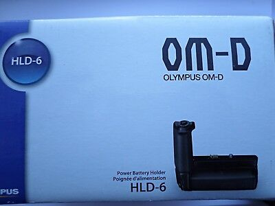 Superb/Boxed Olympus HLD-6 Battery Grip for OM-D E-M5 (Both parts) #833