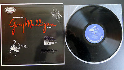 Jazz LP Presenting The Gerry Mulligan Sextet EmArcy ‎195J-33 Japan Pressing Bop