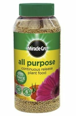 Miracle-Gro Slow Continuous Release All Purpose Plant Food, 1Kg Shaker Jar