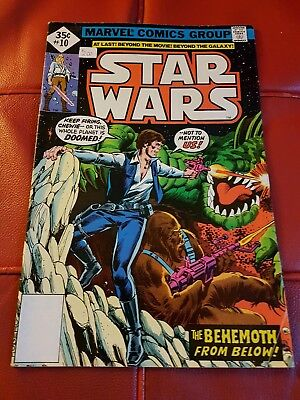 Marvel - Star Wars #10 1978 35 cents - VG+