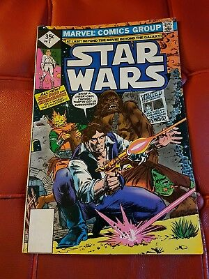 Marvel - Star Wars #7 1978 35 cents reprint - FN
