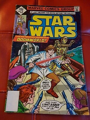 Marvel - Star Wars #12 1978 35 cents - VG+/FN