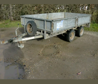 Ifor Williams LT105 G Twin Axel trailer 10FT x 5FT Double Drop Sides Or Flat bed