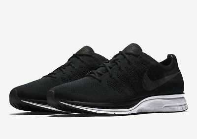 SALE Nike Flyknit Trainer Black White AH8396-007 8-14