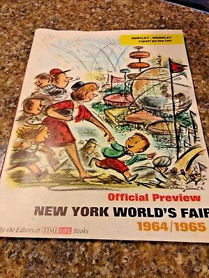 New York The World's Fair Official Preview 1964-65 w/ Huntley - Brinkley report