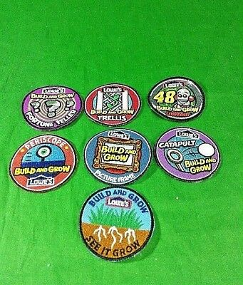 Lowes Build And Grow Patches 48 Lowebot Periscope Fortune Teller Trellis Lot
