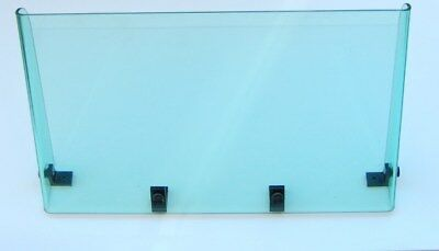 """UNIVERSAL FIT SMOKED PLEXIGLASS BOAT WINDSHIELD CENTER OR SIDE CONSOLE 21 3//4/"""""""