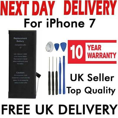 "Replacement Battery Apple iPhone 7 4.7"" 1960mAh 3.80V Li-ion UK Full Capacity"