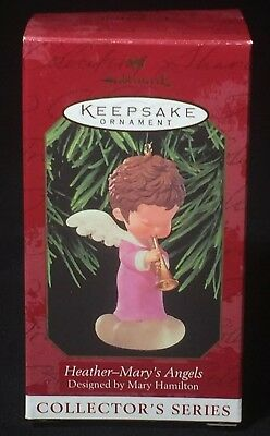 1999 Hallmark Collectors MARY'S ANGELS Heather 12th in Series NIB