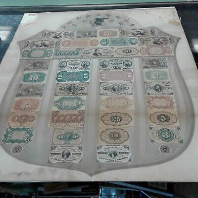 Fractional Currency Shield Very Rare 1866-1867